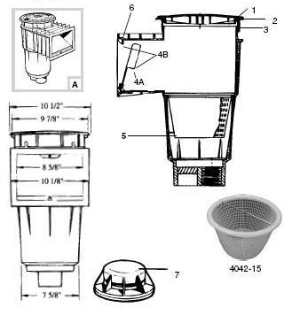Hayward Skimmer Model Sp 1070