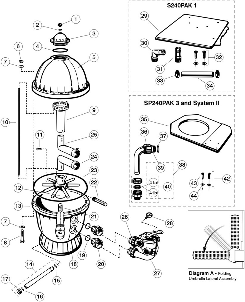 Hayward S 200 Replacement Parts