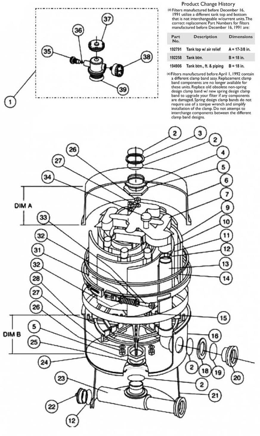 Pentair Nautilus Ss Replacement Parts
