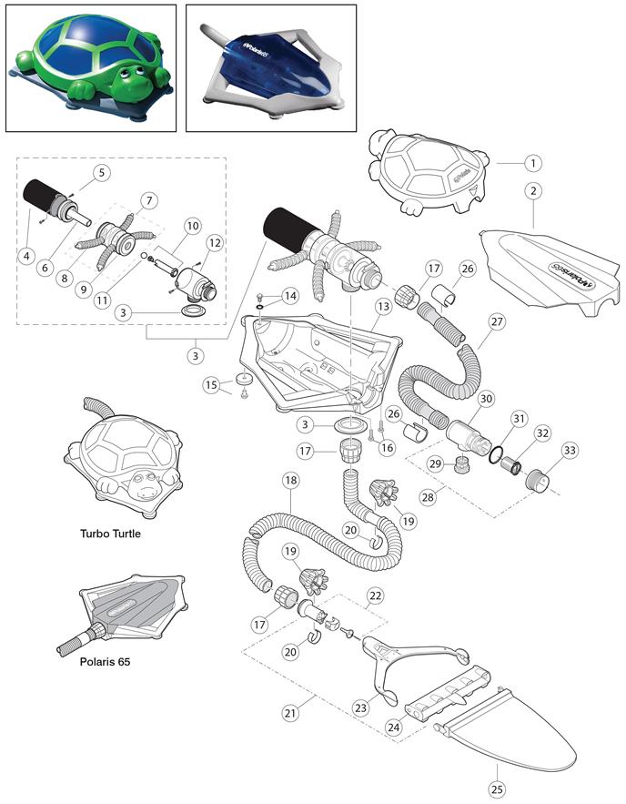 Polaris 65 Replacement Parts