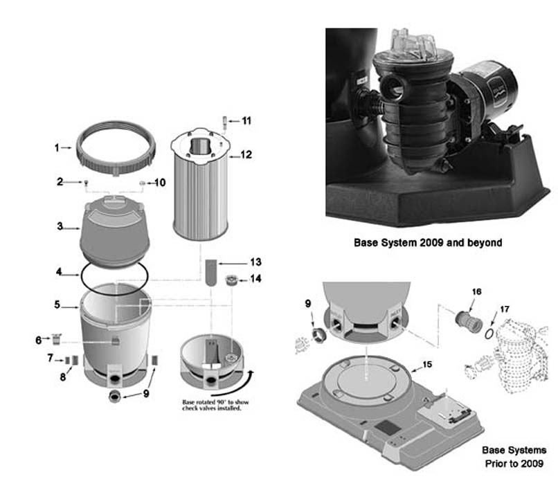 Sta rite pld50 pld70 replacement parts for Sta rite motor replacement