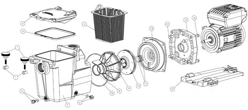 Hayward Super Pump Vs Pump Replacement Parts