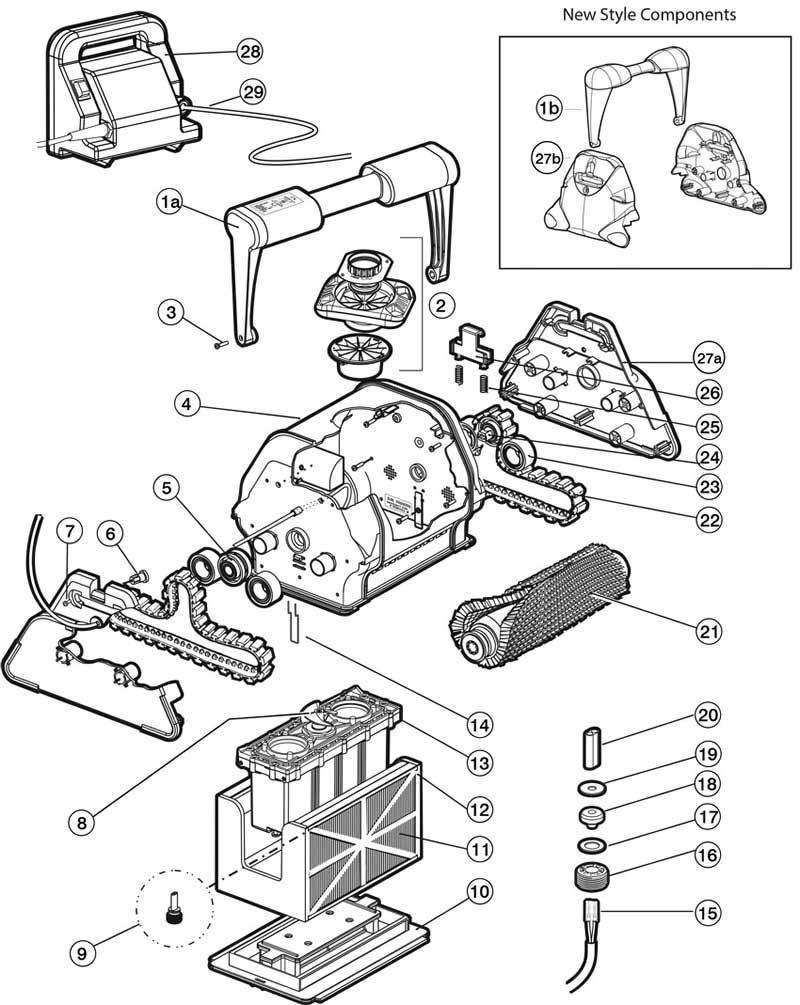 Tiger Shark Replacement Parts