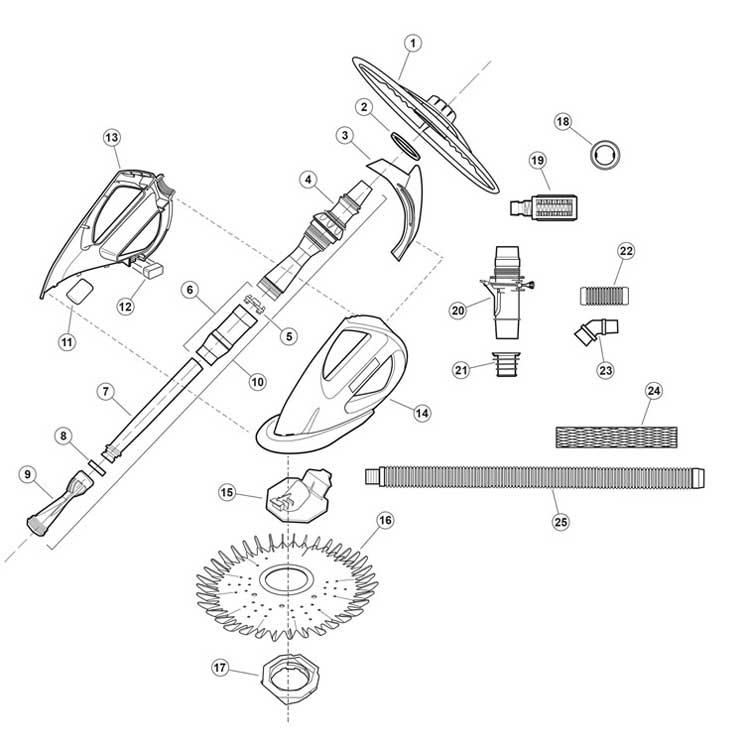 Zodiac G Cleaner Parts on Zodiac Baracuda Parts