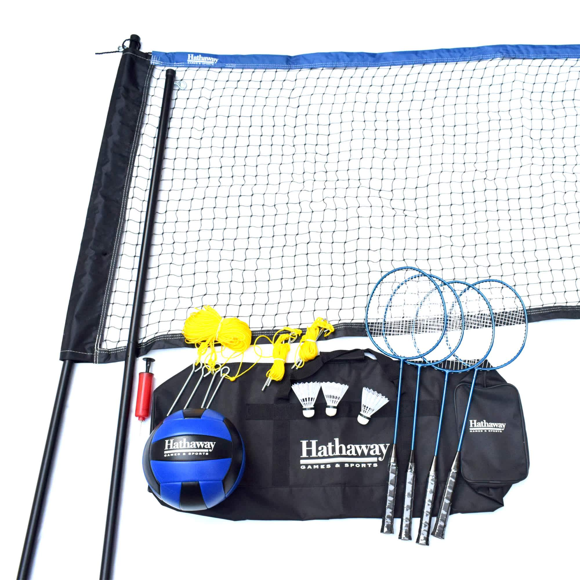 Volleyball/Badminton Complete Combo Set