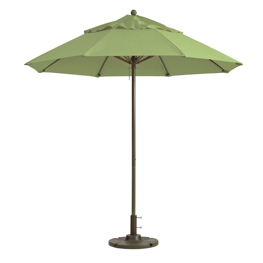 7.5ft Windmaster Fiberglass Umbrella, Pistachio