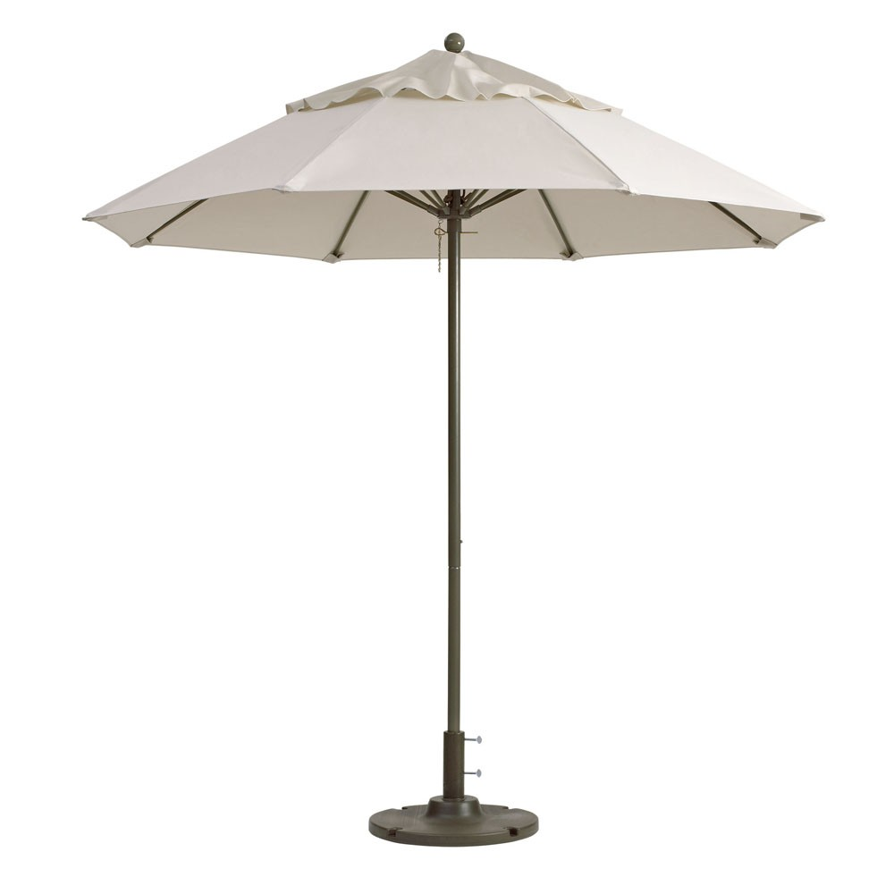 7.5ft Windmaster Fiberglass Umbrella, Canvas