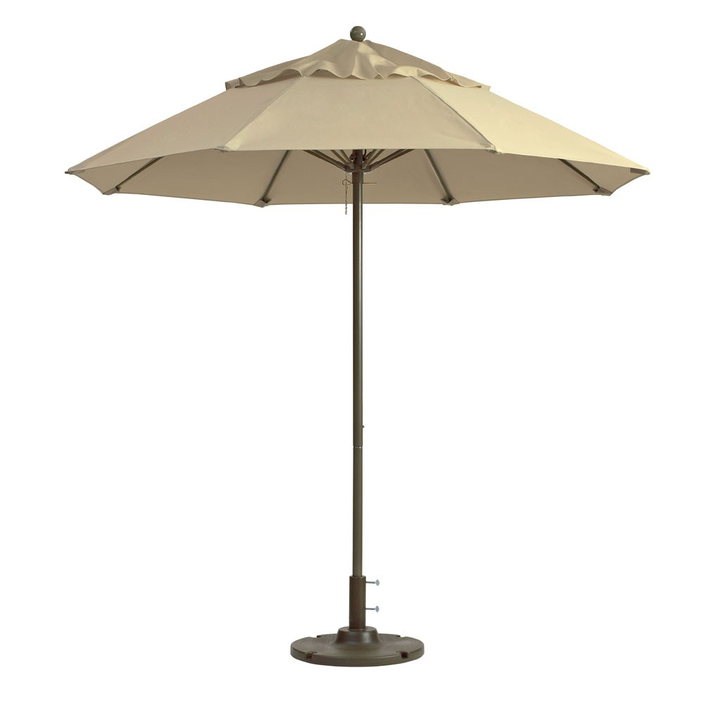 7.5ft Windmaster Fiberglass Umbrella, Khaki