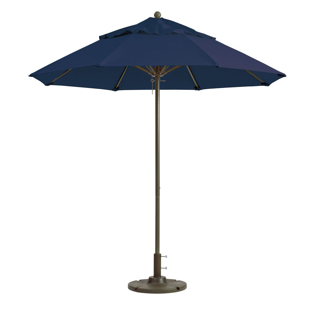 7.5ft Windmaster Fiberglass Umbrella , Navy