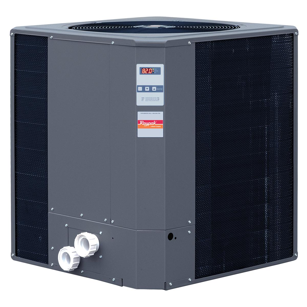 Raypak R6450ti-E 119,000 BTU Heat Pump Digital Titanium