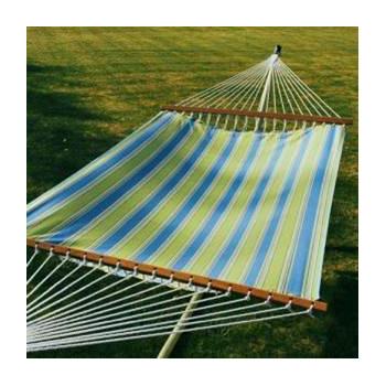 Algoma 13' Fabric Hammock - Hampton Bay Summer Stripe