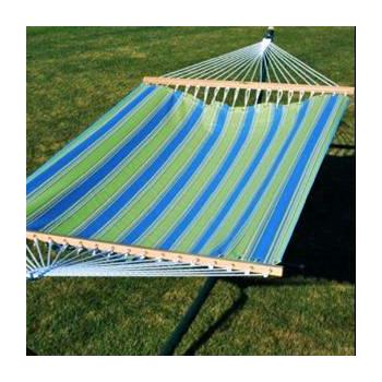 Algoma 11' Fabric Hammock - Hampton Bay Summer Stripe
