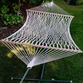 Algoma 11' Cotton Rope Hammock