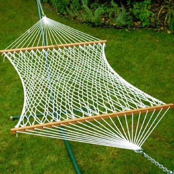 Algoma 13' Deluxe Polyester Rope Hammock