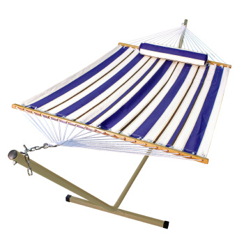 Algoma 11' Fabric Hammock, Pillow, and Stand Combination