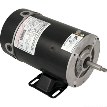 1.5 hp Replacement Motor - 48Y Threaded Shaft
