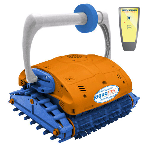 Aqua First Turbo Remote Control Robotic In Ground Pool