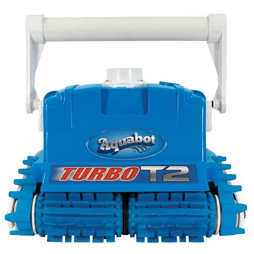 Aquabot Turbo T2 Robotic Pool Cleaner w/Caddy