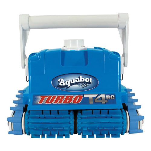 Aquabot Turbo T4 Remote Control In-Ground Pool Cleaner w/Caddy