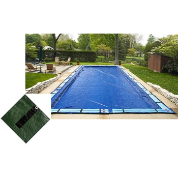 12' x 24' Rect Arctic Armor Silver Winter In-ground Pool Cover 12yr