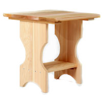 Cedar Adirondack Magazine Table