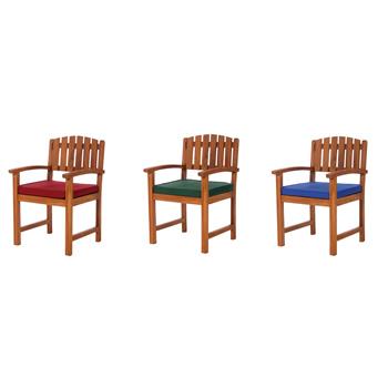 Blue Dining Chair Cushion
