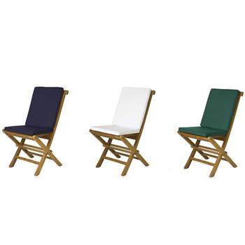 Navy Blue Folding Chair Cushion