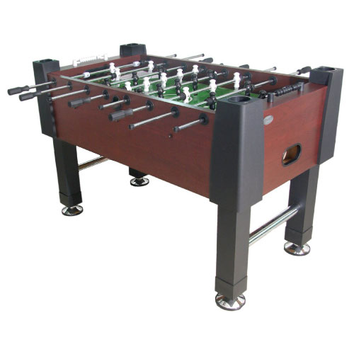 The Player Foosball Table - Mahogany