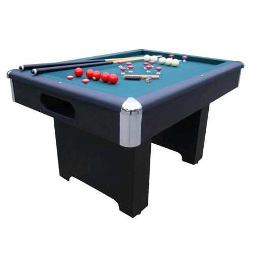 Slate Bumper Pool Table - Black Finish