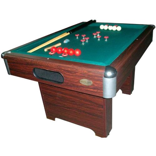 Slate Bumper Pool Table - Walnut Finish