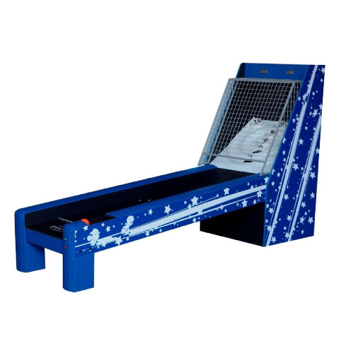 Deluxe Bulls-Eye Skee Ball 8.5 foot Table -  Blue Star