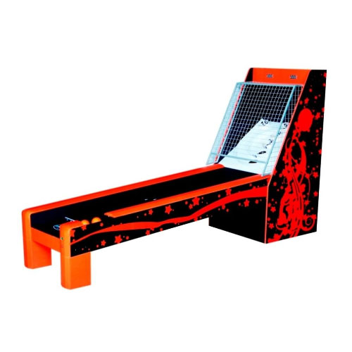 Deluxe Bulls-Eye Skee Ball 8.5 foot Table -  Red & Black