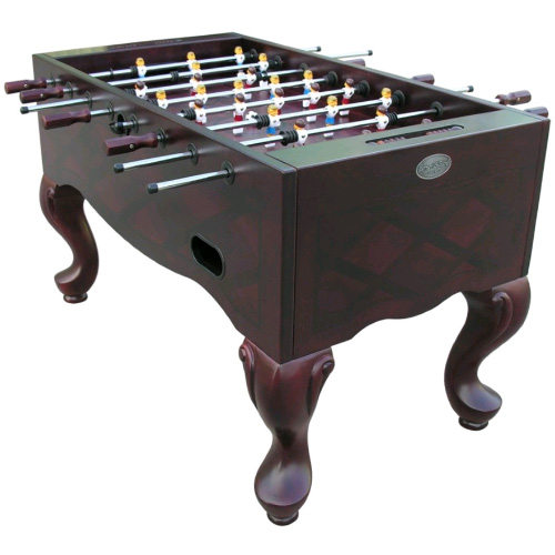 Queen Anne Furniture Style Foosball Table - Mahogany