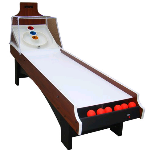 Bulls-Eye Ball 8' Skeeball Table