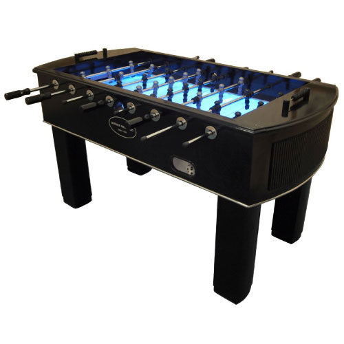 The Neon Foosball Table