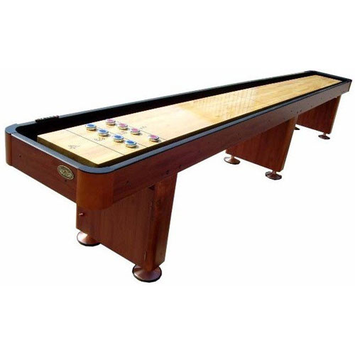 Standard 14u0027 Shuffleboard Table   Cherry