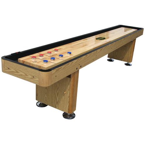 Standard 9' Shuffleboard Table - Oak