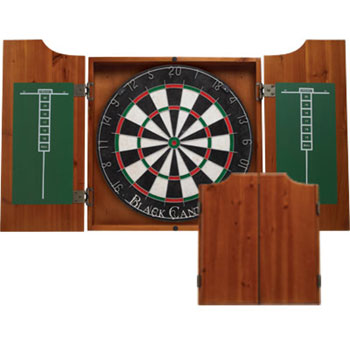 Black Canyon Honey Dart Board Cabinet