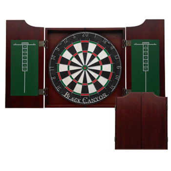 Black Canyon Wine Stain Dart Board Cabinet