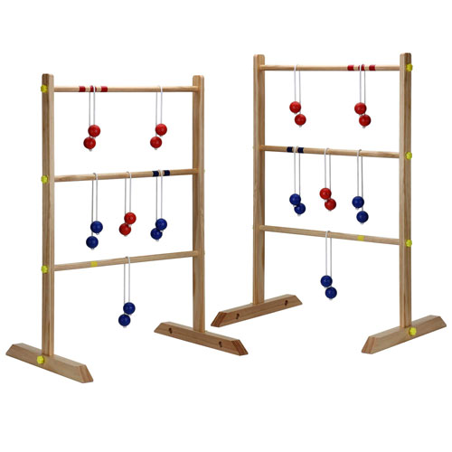 Premium Wood Ladder Toss Game Set