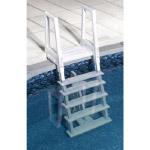 Deluxe Heavy Duty In-Pool Ladder - 48  - 54  - White