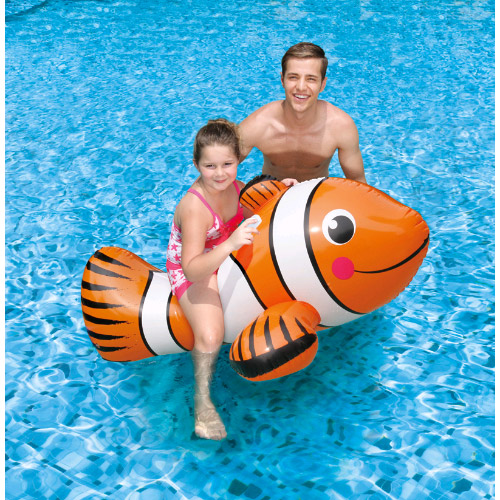 Giant Clown Fish Ride-On