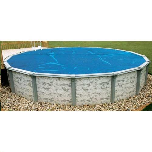24' Round Blue Above Ground Pool Solar Blanket - 3yr Warranty