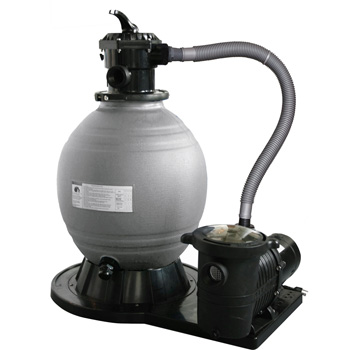 Sandman 18 Quot Sand Filter With 1hp Pump Up To 16 000