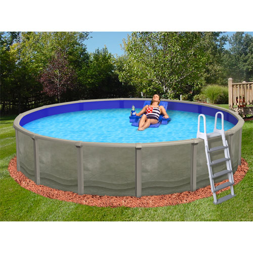 Trinity 24 39 round 52 resin pool skimmer only nb1824 - Above ground resin swimming pools ...
