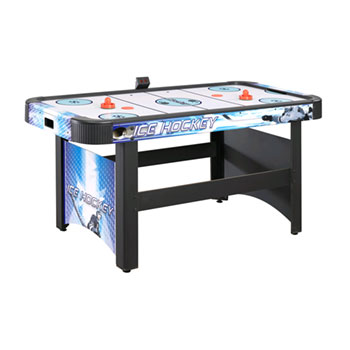Carmelli Face-Off 5 ft. Air Hockey Table w/ Electronic Scoring