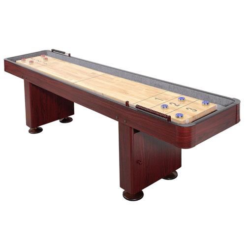 Carmelli 9 Ft. Shuffleboard Table - Dark Cherry