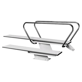 1/2 Meter Steel Stand for 8' Diving Board