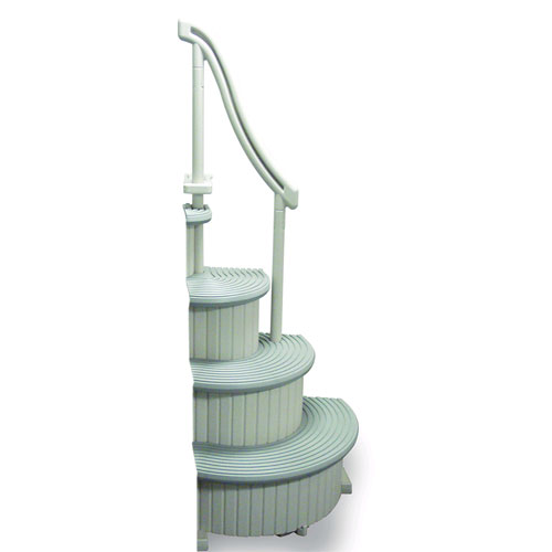 Confer Curve Above Ground Pool Entry Step - Add On Unit