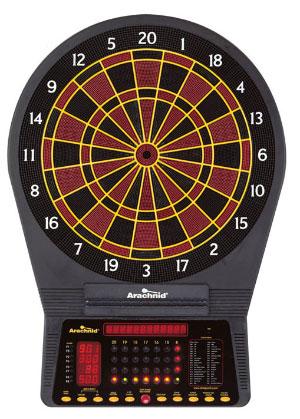 Electronic Dart Boards Arachnid Cricketpro 750 E750ara
